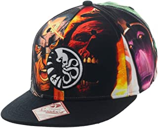 Marvel Shield vs. Hydra Snapback Baseball Cap BioWorld 810190404