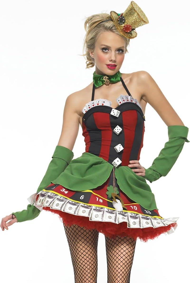 Leg Avenue - Disfraz de cabaret para mujer, talla UK 8 (8342201011 ...