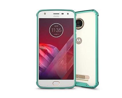 LEMORRY para Motorola Moto Z2 Play Funda Carcasa, Ultra ...
