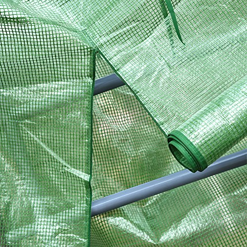 Mini Greenhouse Cover Replacement 4 Tier, PE Tier Home Plant Greenhouse Tent Outdoor Plastic(Without Iron Stand) by PROKTH (Image #4)