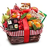 Golden State Fruit Rustic Treasures Holiday Christmas Gift Basket