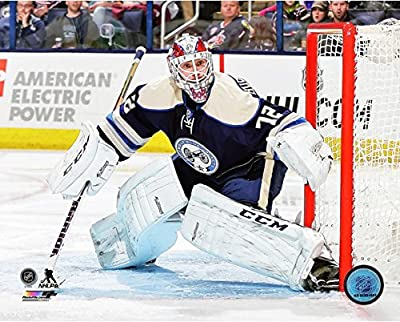 "Sergei Bobrovsky Columbus Blue Jackets 2014-2015 NHL Action Photo (Size: 8"" x 10"")"