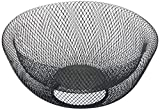 NIFTY 7540BLK Black Double Wall Mesh Decorative and Fruit Bowl, 3.5 quart/10