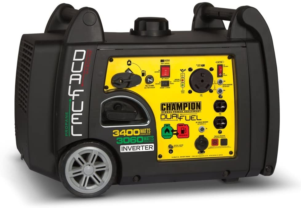 Champion Dual Fuel RV Ready Portable Inverter Generator