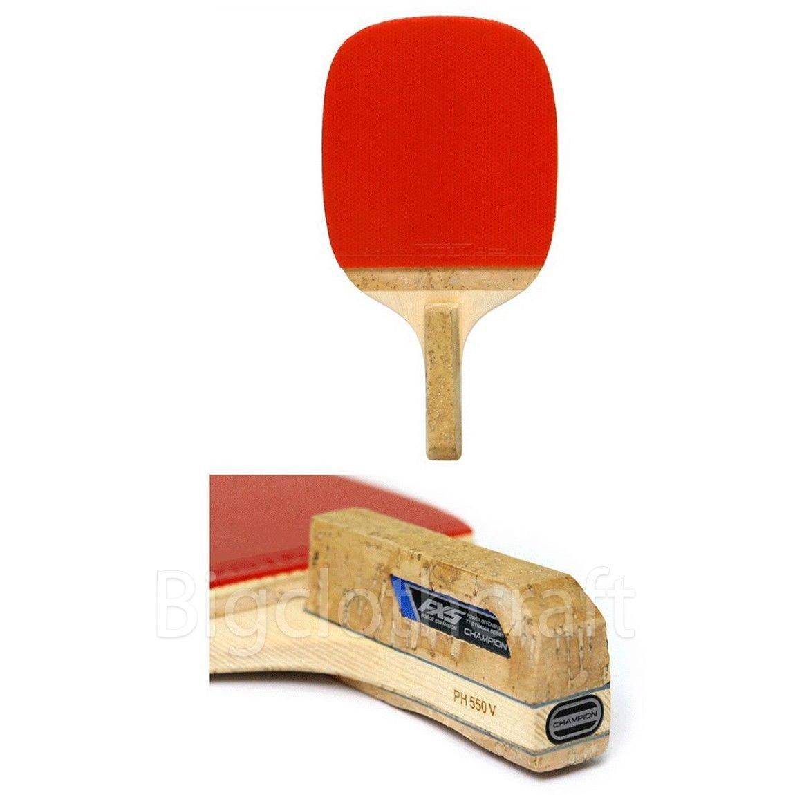 new CHAMPION PH550V Table Tennis Ping Pong Racket