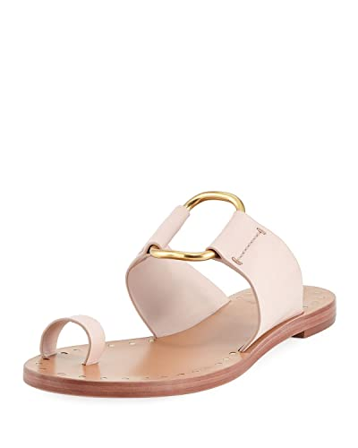 bedc047ee Tory Burch Seashell Pink Brannan Studded Leather Sandals (6 M US)