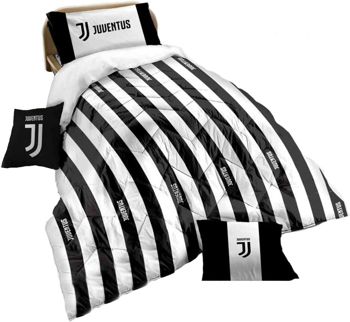Piumone Juventus Matrimoniale.Juventus Trapunta Matrimoniale 260x270 Prodotto Ufficiale Juve Due