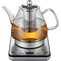 Healthy Choice Electric 800W 1.2L Digital Glass Kettle w/Tea Infuser/Keep Warm