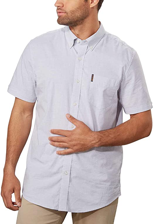 Ben Sherman Mens Stretch Woven Shirt