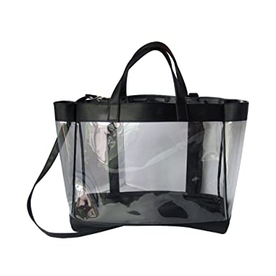 3b97199aa9576 crystal bags Mondstein transparente Tasche  Amazon.de  Schuhe ...