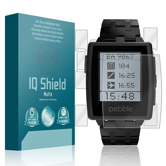 Amazon.com: Pebble Steel Smartwatch Screen Protector, IQ ...