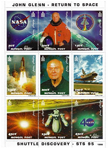 Space Stamps Mint - 3