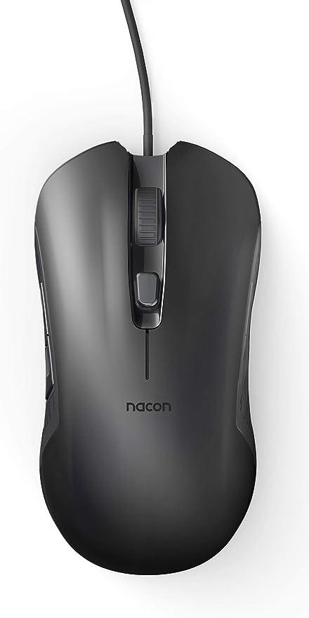 Ratón óptico de Gaming Nacon GM-110 en Color Negro: Amazon.es ...