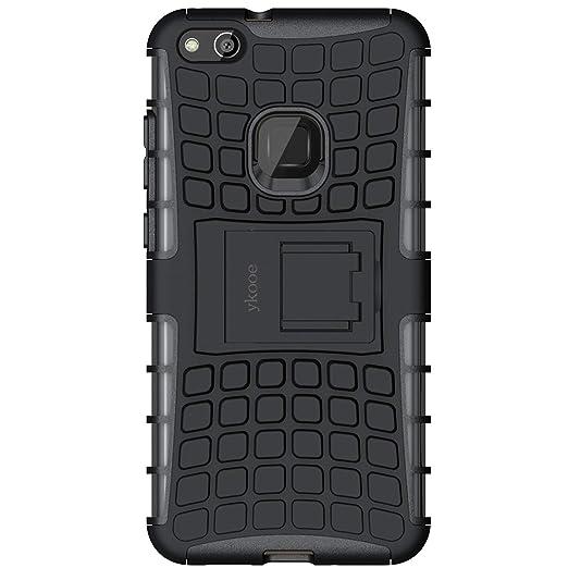 ykooe Funda Huawei P10 Lite, Teléfono Híbrida de Doble Capa con ...