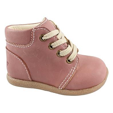 EN FANT Mädchen Beginner Shoe Lace Bootschuhe, Violett (Purple 02), 19 EU