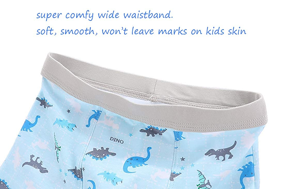CHUNG Toddler Little Boys Underwear Soft Modal Cotton Boxer Briefs Pack of 5//10 Dinosaur 2-9Y
