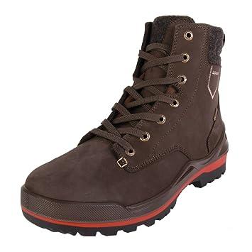 der Verkauf von Schuhen billiger Verkauf professioneller Verkauf Lowa Oslo GTX Mid dunkelbraun Rot Size: 8.5: Amazon.co.uk ...
