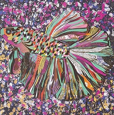 Beautiful Artistic Birthday Card Fish Camden Graphics Amazon