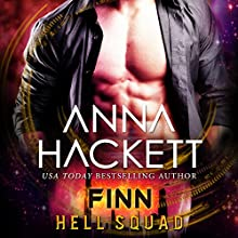 Finn: Hell Squad, Book 10 Audiobook by Anna Hackett Narrated by Samantha Cook, Jeffrey Kafer