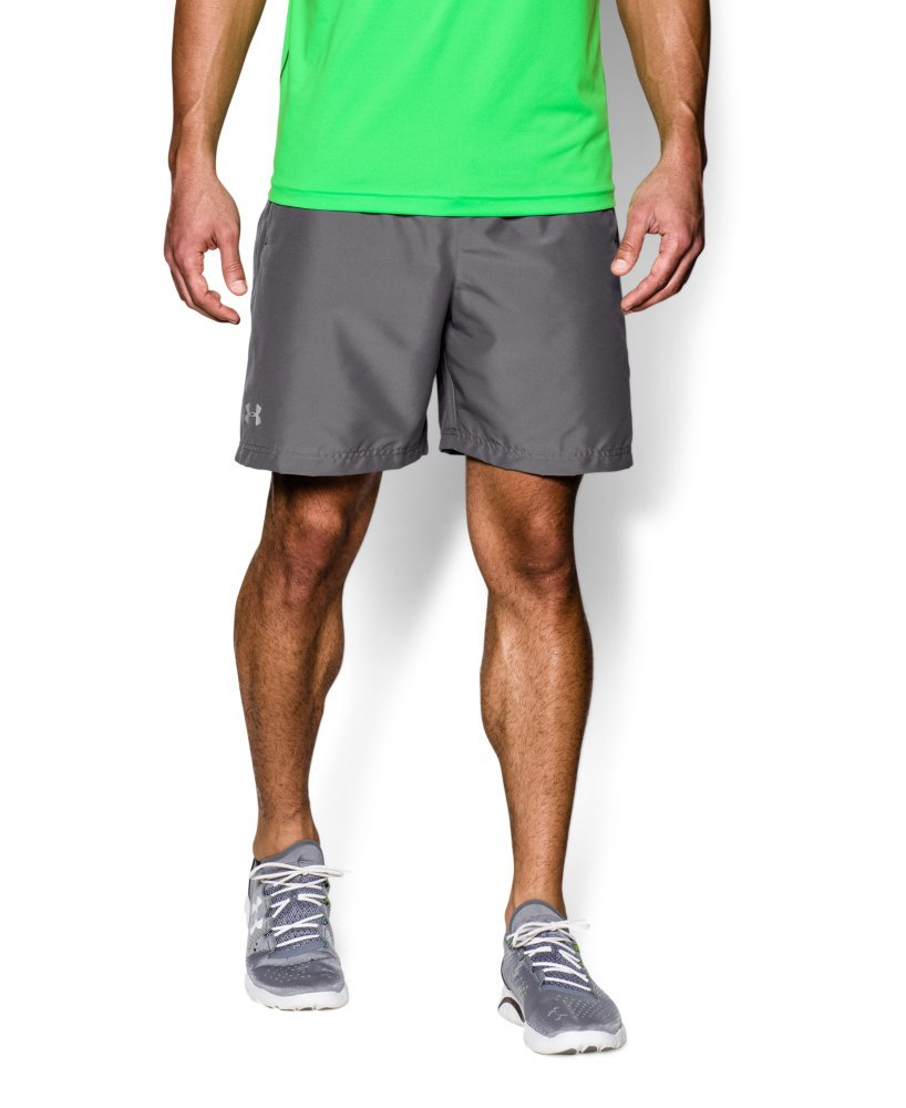 Under Armour Men's Launch Run Woven 7'' Run Shorts, Graphite /Reflective, Small by Under Armour (Image #3)