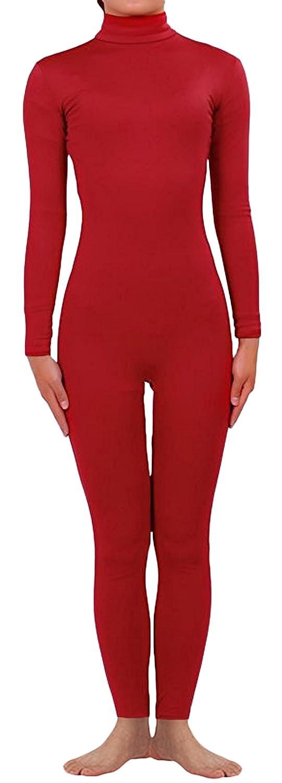 Seeksmile Unisex Classic Lycra Spandex Dancewear Catsuit