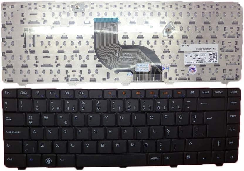 Laptop Keyboard for DELL Inspiron 13 N3010 14 M4010 N4020 N4030 14R N4010 15 N5030 M5030 TR Turkish 0HYCNC HYCNC AEUM8A00110 NSK-DJH0T New