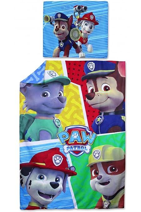 Funda Nordica Spiderman Carrefour.Kids Paw Patrol Duvet Pillow Cover Set 140 X 200 Cm Cotton