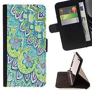 King Case - FOR Samsung ALPHA G850 - While there is?life - Prima caja de la PU billetera de cuero con ranuras para tarjetas, efectivo Compartimiento desmontable y correa para la mu?eca