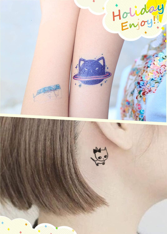31 Hojas de Tatuajes Temporales para Niñas y Niños, Tatuajes para ...