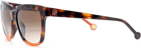 Carolina Herrera Gafas de Sol Mujer SHE7445309AJ (Diametro 53 mm), Marron, 53/18/135 Unisex-Adult: Amazon.es: Ropa y accesorios