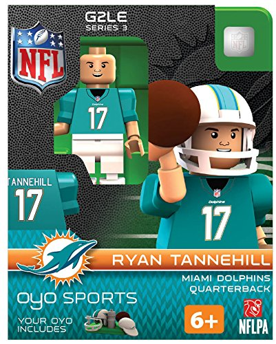 NFL Miami Dolphins Ryan Tannehill Gen 2 Mini Figure, Petit