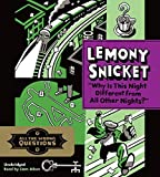 Download Why Is This Night Different from All Other Nights? by Lemony Snicket (October 06,2015) in PDF ePUB Free Online