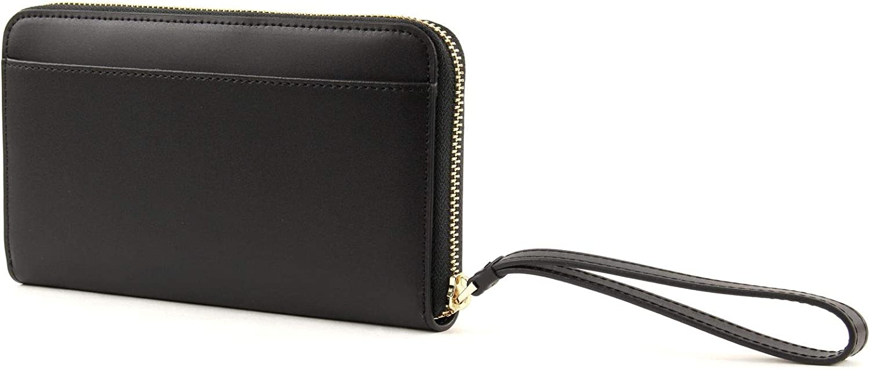 LANCASTER Cam/élia Zip Around Wallet Noir