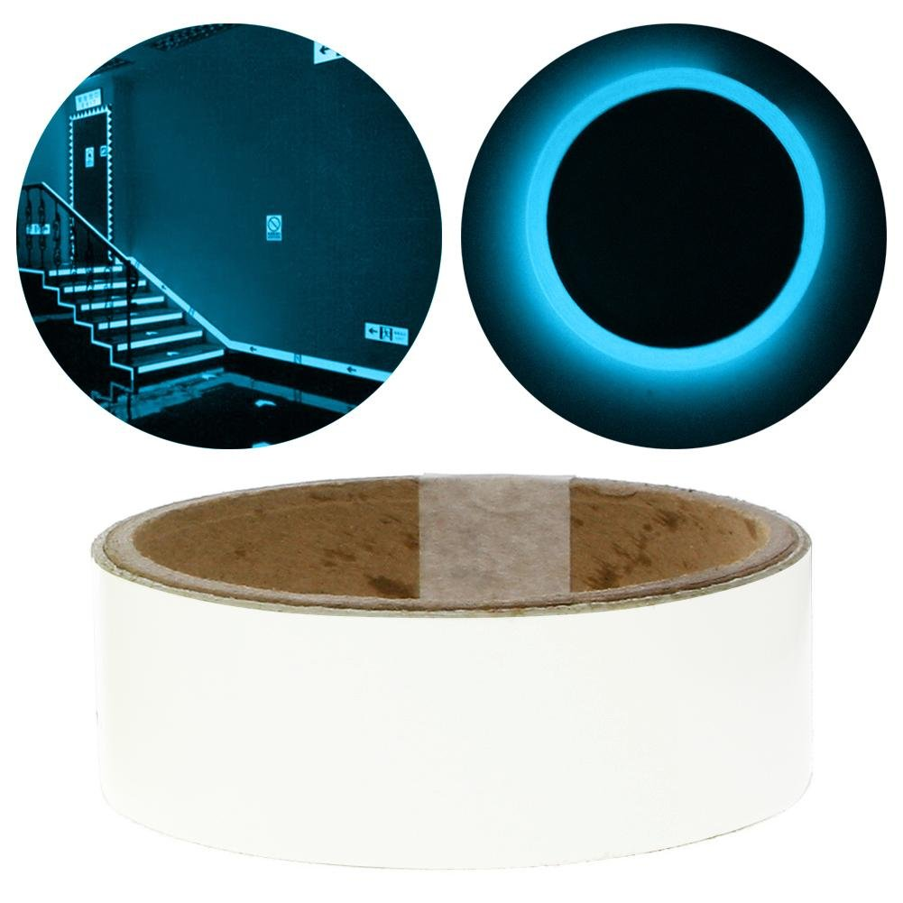 Teabelle autoadesiva sticker tape Night luminoso Glow in the Dark sticker Blue