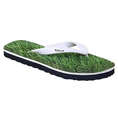 d64d03176110 CHARAN COLLECTIONS Grass Flip Flops