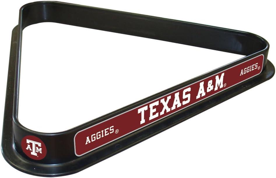 NCAA Texas A/&M University Triangle Billiard Ball Rack