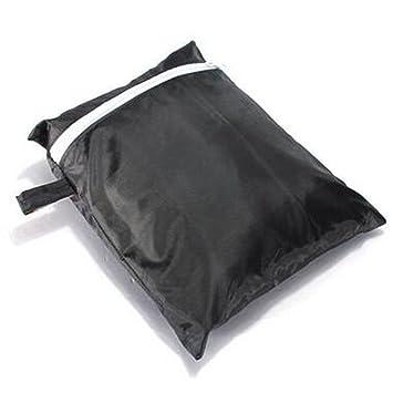 RingSun Parrilla de barbacoa cubierta, barbacoas protector, barbacoas Fundas impermeable, 145 x 61 x 117 cm negro, Resistente al viento y resistente a los ...