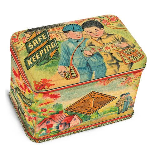 Blue Q Safe Keeping Junior Treasure Box