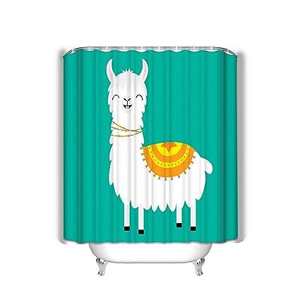Amazon.com: Sfyvgxzfgyd - Cortina de ducha de playa con ...