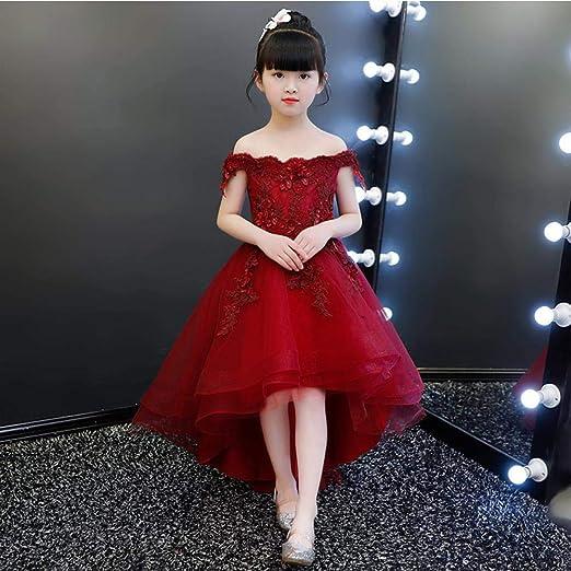 CYDKZMEPA Vestido de Princesa para niñas, Vestido para niños ...