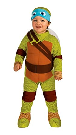 Amazon.com: Disfraz de Leonardo de las Tortugas Ninja Baby ...