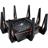 Asus ROG Rapture GT-AX11000 Tri-band WiFi 6 (802.11ax) Gaming Router - World's first 10 Gigabit Wi-Fi router