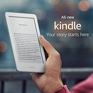 Kindle, now with a built-in front light - White