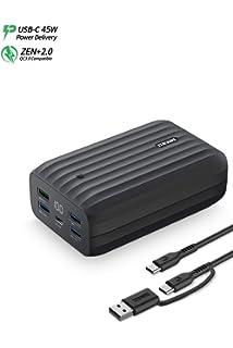 Zendure A3PD Power Bank USB C 10000mAh, 3 Ports Battery