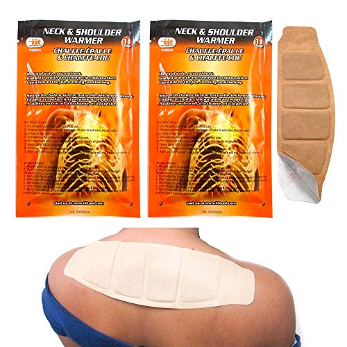 ATB 2 Neck Shoulder Back Warmer Adhesive Wrap Heat Activa...
