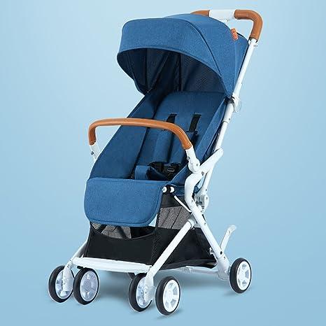JIANXIN Carro De Bebé Superligero De Cuatro Ruedas con Carros De Bebé Plegables Que Pueden Sentarse