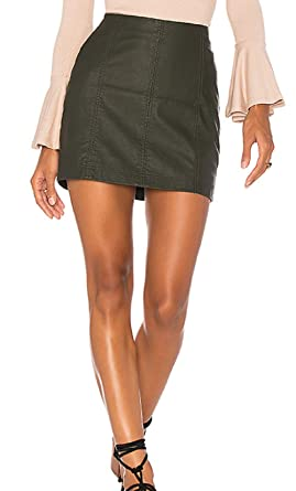 68b5addb49 Image Unavailable. Image not available for. Color: Free People Modern Femme  Faux Leather ...