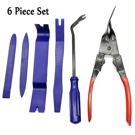 Amazon.com: Kit de herramientas de extracción de tapicería ...