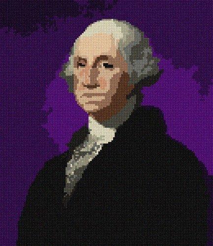 pepita George Washington Needlepoint Canvas