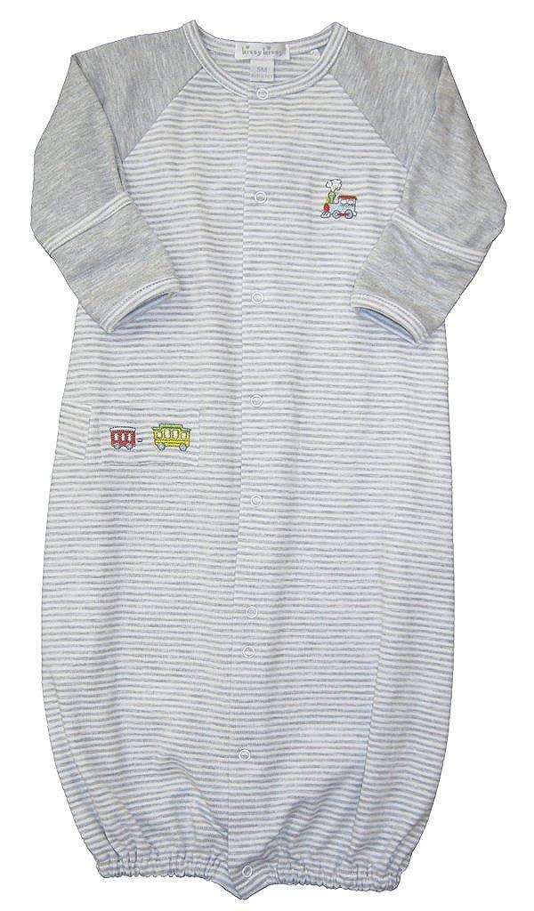 数量は多 Kissy Kissy Infant baby-boys Infant Red CabooseストライプConvertibleガウン Small Kissy グレー グレー B0722R5TW2, 印象のデザイン:9d2f4e90 --- a0267596.xsph.ru